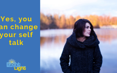 Yes you can change your self talk