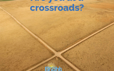 Are you at a crossroads?