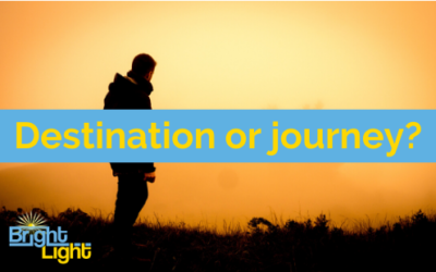 Setting goals: Do you focus on the journey or the destination?